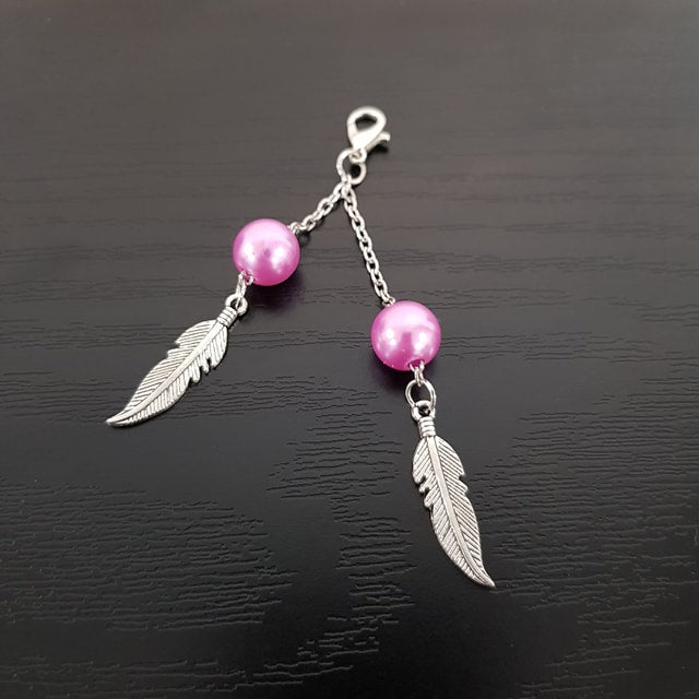 PINK FEATHERS JAZZLE
