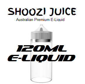 SHOOZI JUICE E-LIQUID 120ML RANGE