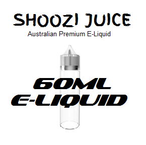 SHOOZI JUICE E-LIQUID 60ML RANGE