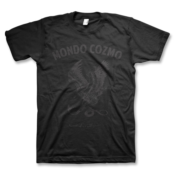 Black On Black Eagle T-Shirt