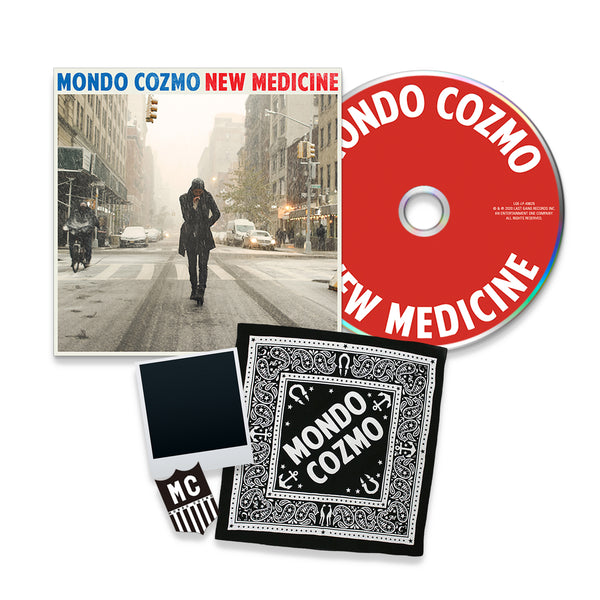 Mondo Cozmo Exclusive New Medicine CD Bundle