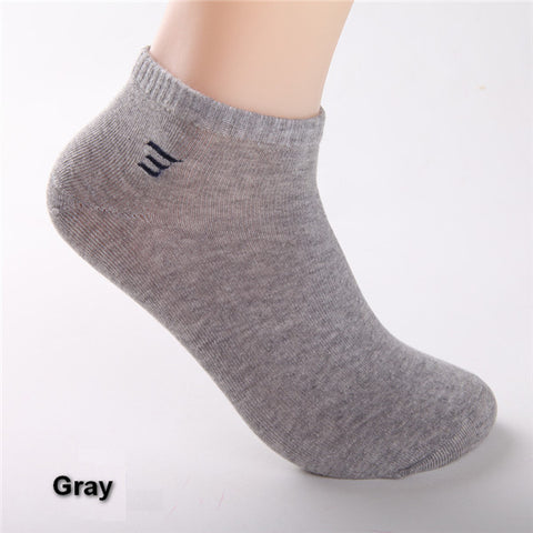 Man Casual Ankle Socks