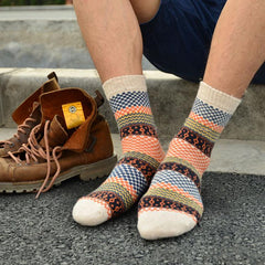1 Pair 2017 Winter Mens Socks