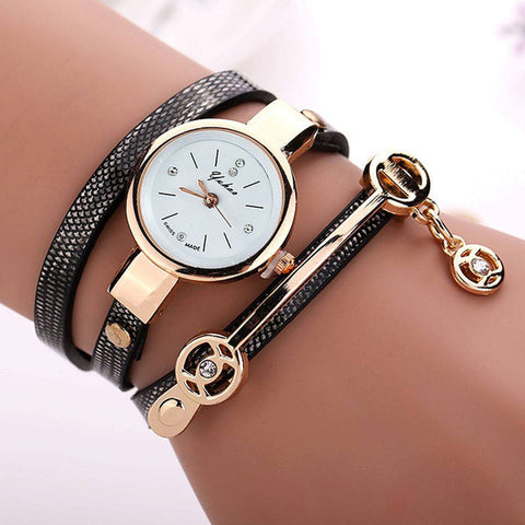 PU Leather wristwatches