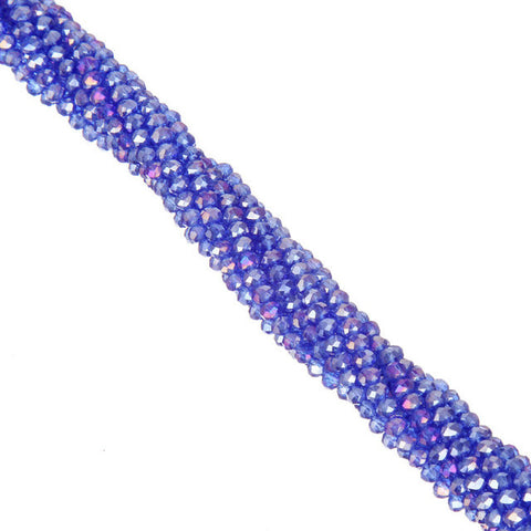 Faceted Rondelles Beads