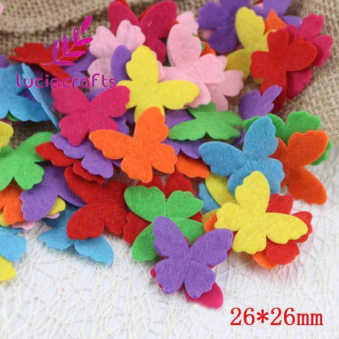 multi shapes felt patch