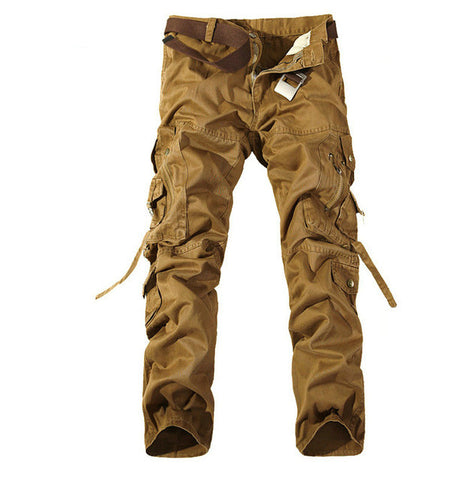 Cotton Camouflage Trousers