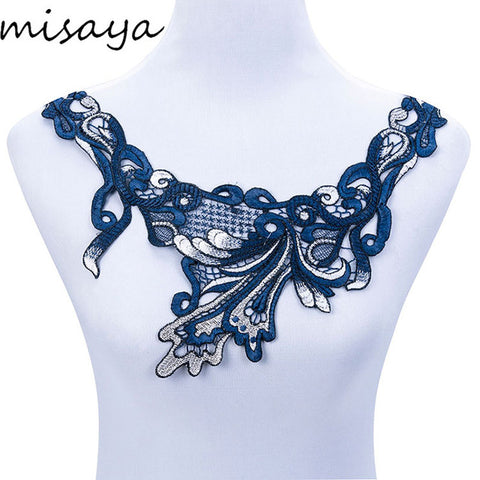 Lace Collar Off 9 Style Beautiful Flower