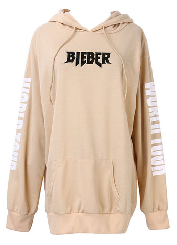 Justin Bieber Purpose The World Tour Hoodie