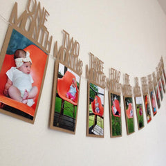 1-12 Month baby Photo holder