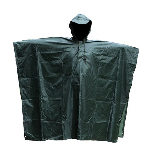Military Impermeable Camo Raincoat