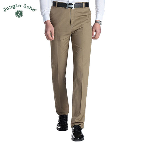 Khaki Men Trousers
