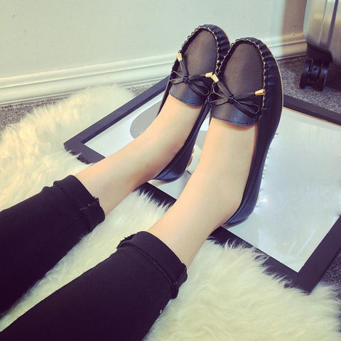 Cut-outs Leisure Shoes