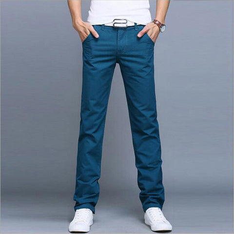Multicolor Men Trousers