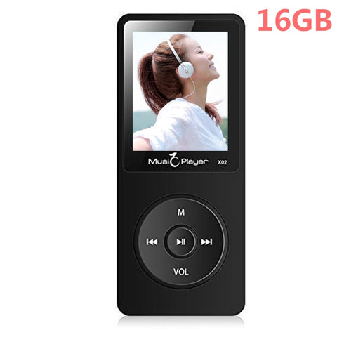 16GB MP3 Player with Speaker