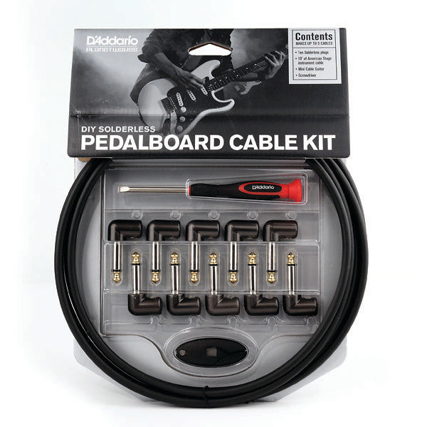 D'Addario Planet Waves Cable Station Pedal Board Cable Kit