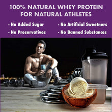 HealthyHey Sports 100% Grass Fed Whey Protein (Made in Germany) - Unflavoured - Made from Grass-Fed Cow's Milk's - 1 KG - Helps in Muscle Synthesis