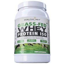 Grass-Fed Whey Protein Isolate - 1kg (Unflavoured) - HealthyHey