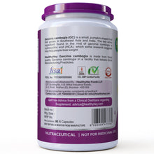 Garcinia Cambogia with HCA Extract - Weight Wellness - Natural Appetite Suppressant - 90 Veg. Capsules - HealthyHey