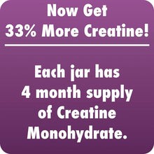 Creatine Monohydrate 400gm - 133 Servings - HealthyHey
