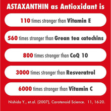 Astaxanthin 4mg - Naturally Sourced from Algae - Non-Synthetic - Support Healthy Ageing - 60 Veg Capsules (60) - HealthyHey