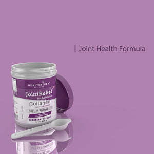 JointRelief Collagen Peptide Type 1, 2 & 3 (Hydrolysed) with Glucosamine, Chondroitin, MSM- Support Joint and Cartilage Health - 200g