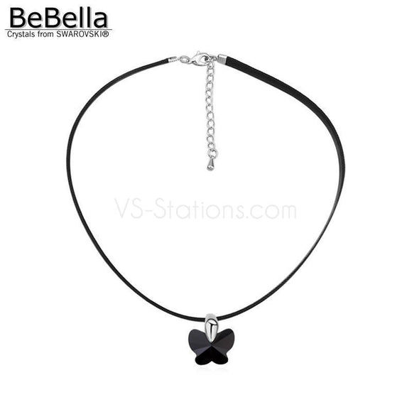 Butterfly Charm Pendant Austrian Crystals from Swarovski for Women Gift - VS STATIONS
