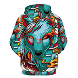 2017-2018 New 3D Hoodies Autumn Clothing Hip Hop Style Sweatshirts