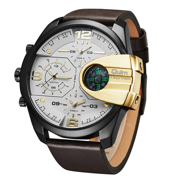 New Design Leather Sports Luxury Military Watches - VS STATIONS