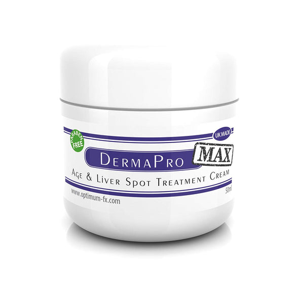Derma PRO MAX Age and Liver Spot DOUBLE STRENGTH Treatment Cream - Paraben and Cruelty FREE - 50ml