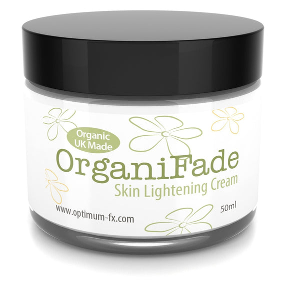 OrganiFade Skin Lightening Cream UK Made With Natural And Organic Ingredients 50 ml