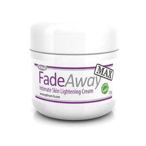 FadeAway MAX Intimate Skin Lightening Cream DOUBLE STRENGTH - Paraben and Cruelty FREE - 50 ml