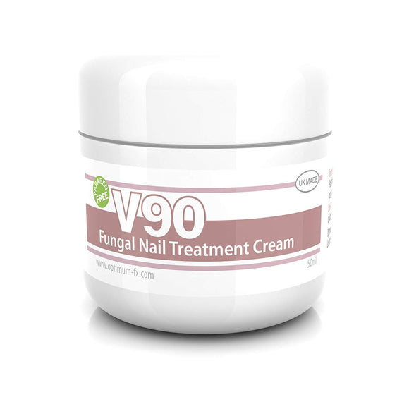 V90 Fungal Nail Infection Treatment Cream Paraben and Cruelty FREE - 50 grams