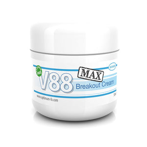 V88 MAX Breakout Cream with Salicylic Acid for Spots Blackheads Pimples Safe on Acne - 50 grams