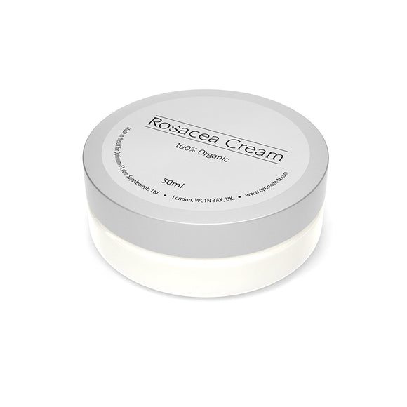 Rosacea Cream Made With Natural Ingredients Treat Redness Soothe Itchy and Inflamed Skin - 50 ml