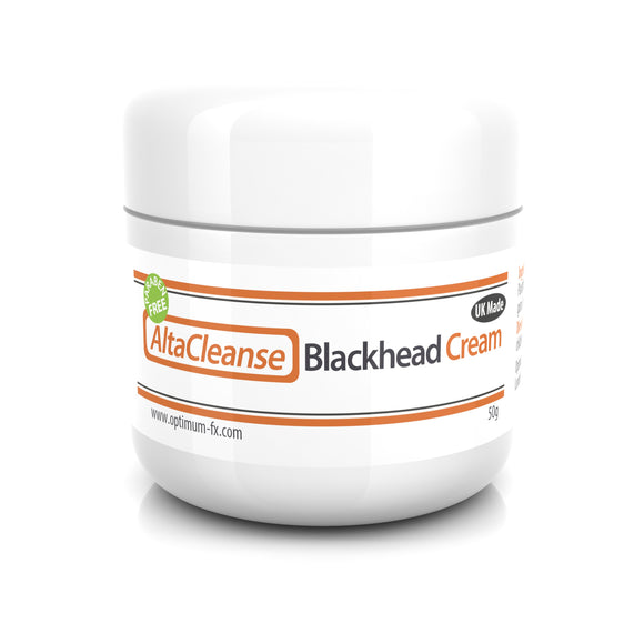 AltaCleanse Blackhead Cream for Blackheads Spots Problem Skin - Suitable & Safe on Acne - 50 grams