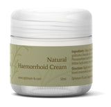 Haemorrhoid Cream UK Made With Natural And Organic Ingredients - Paraben and Cruelty FREE - 50ml