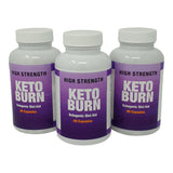 Keto Burn Ketogenic Diet Aid Fat Burner Pharma Grade Appetite Reduction Support Tablets for Men and Women
