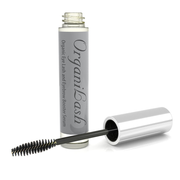 OrganiLash Eyelash and Eyebrow Growth Booster Thickening Serum 100% Natural and Organic UK Made 10ml