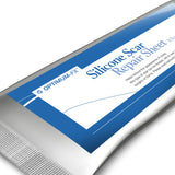 Silicone Gel Scar Repair Treatment Sheet ANY Scar Old, New, Hypertrophic, Keloid, Burns 3.5 x 12 cm