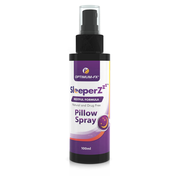 Sleep Spray Pillow Mist Deep Rest Aid Relaxation Get Healthy Natural Sleep Unique Essential Oil Blend – SleeperZzz 100ml