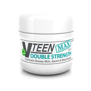 Vteen MAX High Strength Salicylic Acid Spot Treatment Cream for Blackheads Milia Blemishes Problem and Greasy Skin Suitable and Safe for those Prone to Acne - Paraben and Cruelty FREE - 50 grams