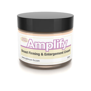 Amplify Breast Firming Cream Works In 30 Days 11 Ways To A Fuller Firmer Bust FAST UK Made With Natural And Organic Ingredients - Paraben and Cruelty FREE - 50ml