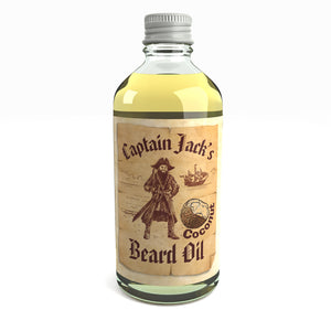 Captain Jack's Pirate Beard Oil Conditioner Limited Edition Coconut Fragrance 100 Millilitre