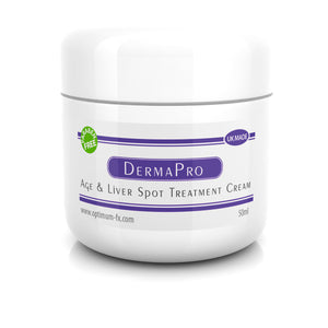 Derma PRO - Age & Liver Spot Treatment Cream - Paraben FREE - 50 ml