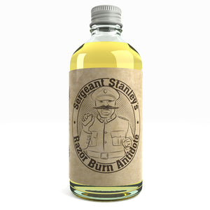 Sergeant Stanley's Razor Burn Antidote After Shaving Post Shave Oil - Razor Bumps Burn / Rash 100ml
