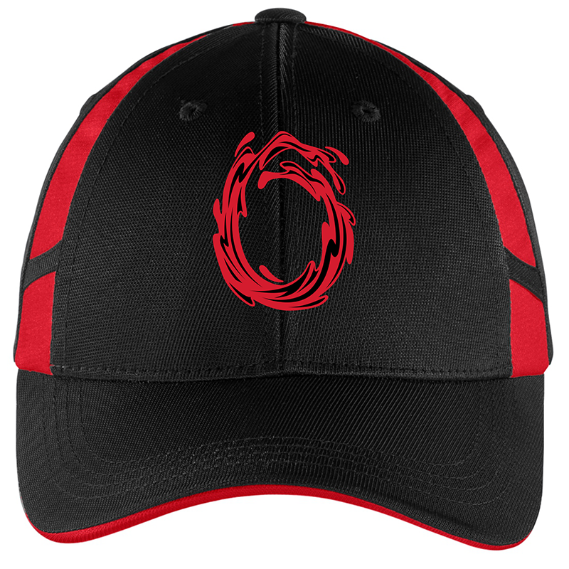 #YesSandy Hat (Black/Red)