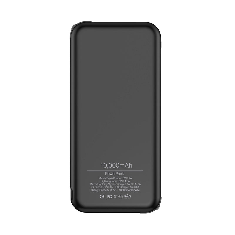 PowerPack - 10,000mAh Wireless Power Bank