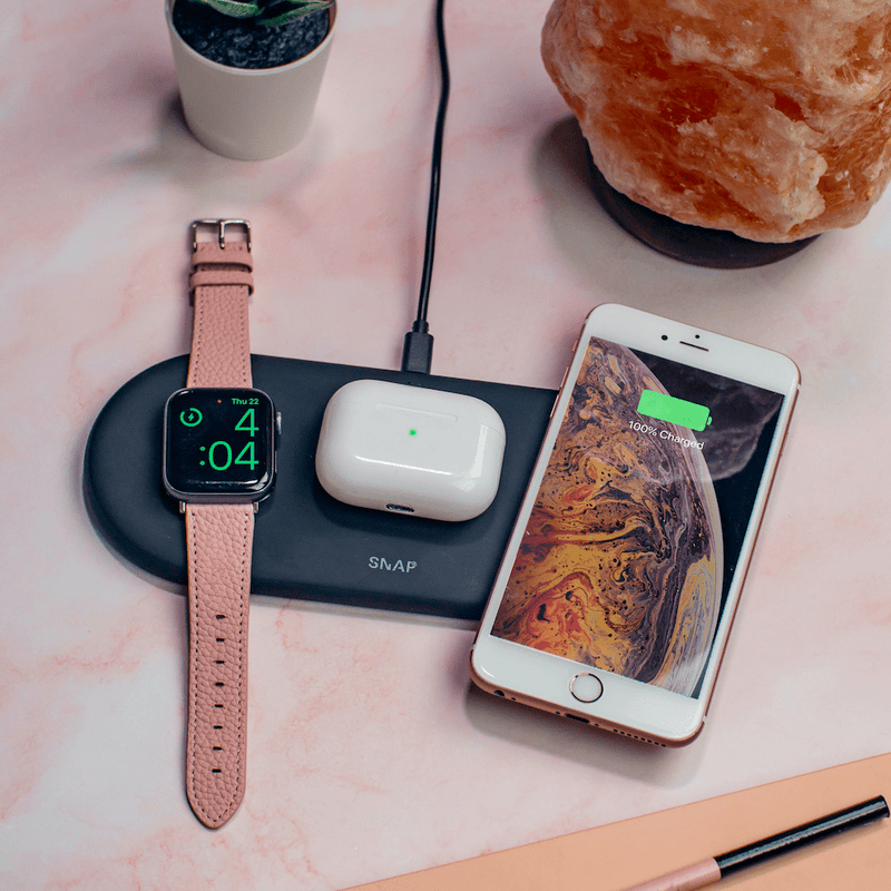 PowerBase - 3-in-1 Wireless Charger