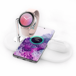 PowerBase - 3-in-1 Wireless Charger for Samsung